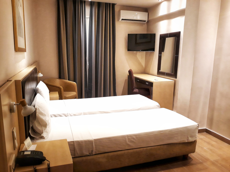 camera dublă cazare în Pireu la Piraeus City Hotel