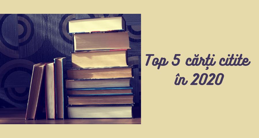 top 5 cărți citite în 2020
