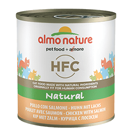 HFC Natural Pollo con salmone