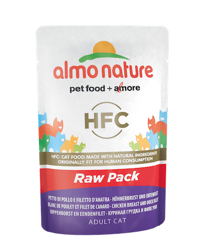 HFC Raw Pack Blanc de poulet et filet de canard