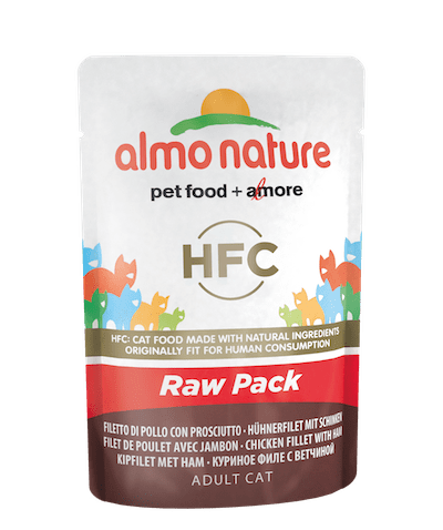 HFC Raw Pack Filet de poulet avec jambon