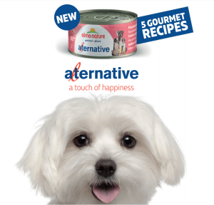 Stimulate your dog's sense of smell with new aLternative wet tins!