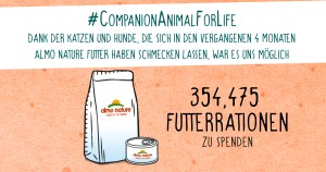 "Was wir mit ""A Companion Animal is for Life"" erreicht haben"