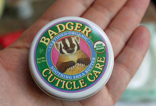 Badger Cuticle Care Cream