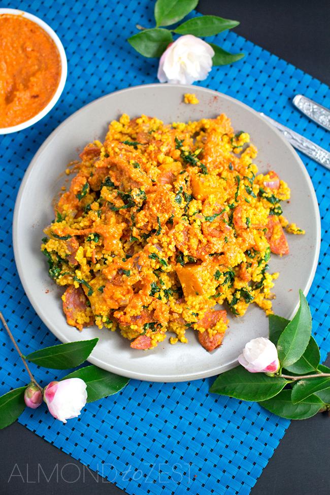 Couscous Salad with Chorizo and Kumara