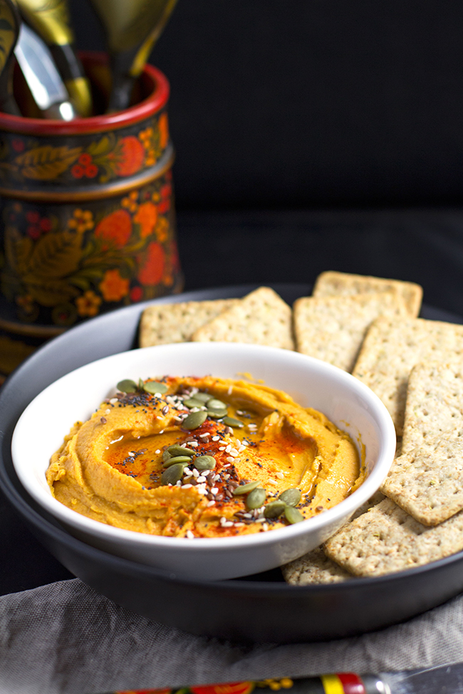 Party Sized Sweet Potato Hummus