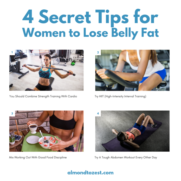 lose belly fat exercise routine