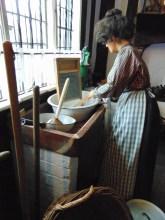 Victorian Kitchen - washerwoman