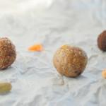 Orange Walnut Cardamom Balls