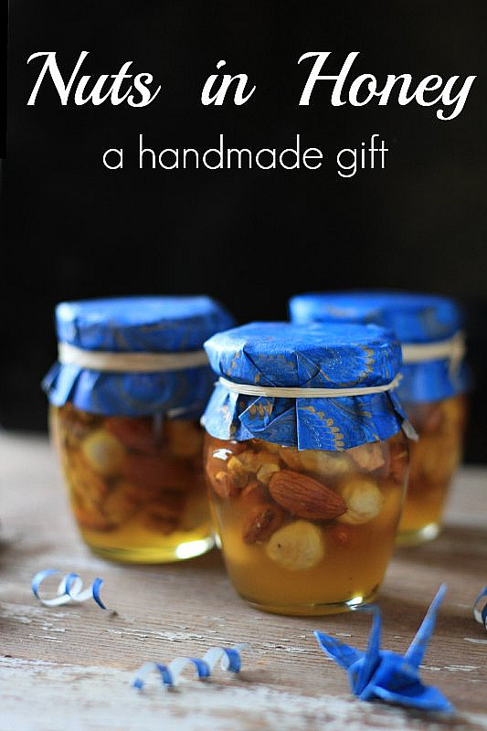 Nuts in Honey: a sweet handmade gift