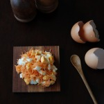 egg carrot salad spread