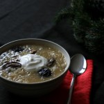 Slovak Christmas Sauerkraut Soup (vegetarian version) - Almost Bananas