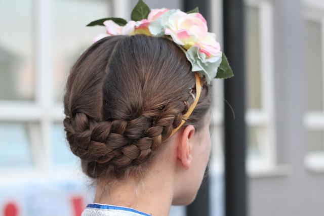 Traditional Slovak hairdo - Almost Bananas blog