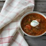 Kapustnica: Slovak Sauerkraut Soup