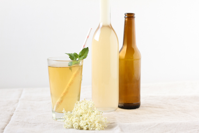 elderflower lemon radler