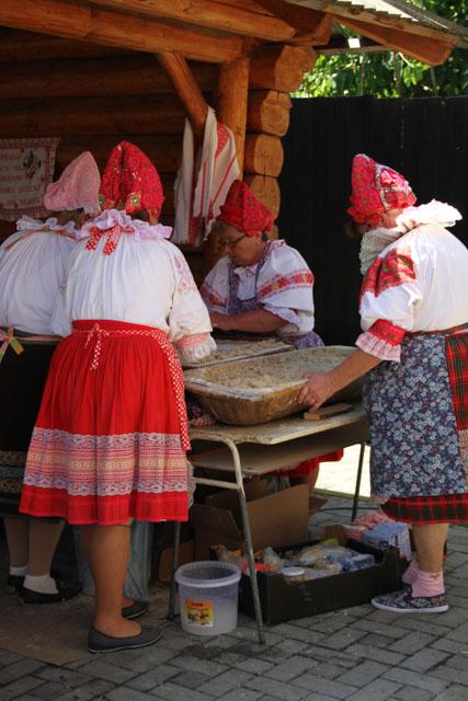 making gulky in Helpa, Slovakia