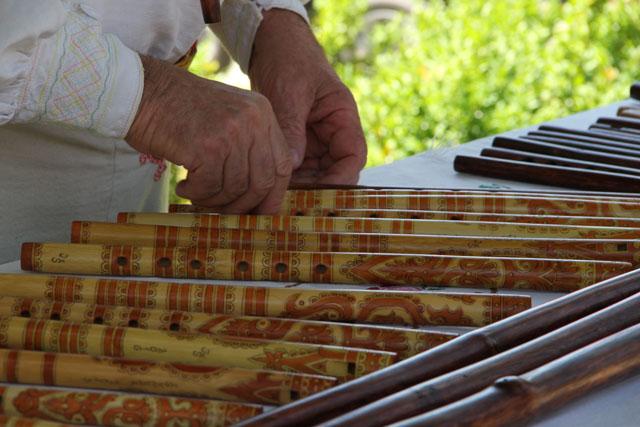 Slovak wooden flutes