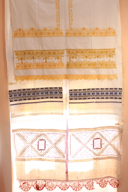 embroidered cloths