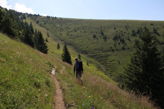 Hiking around Ploska, Slovakia
