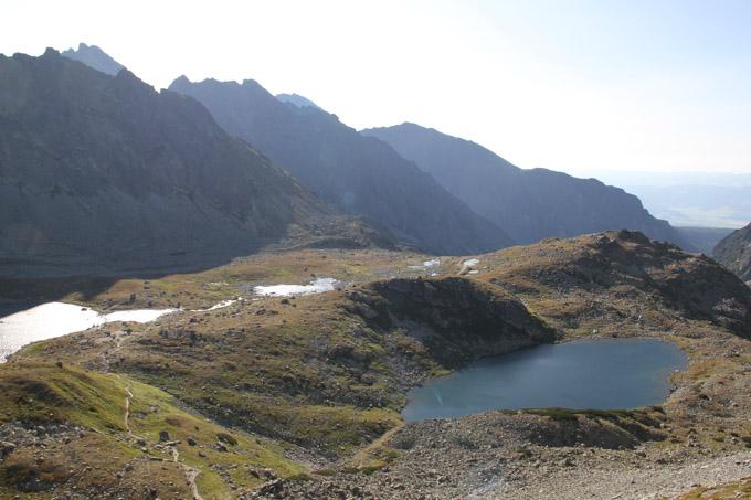 Male Hincovo Pleso in the High Tatras, Slovakia