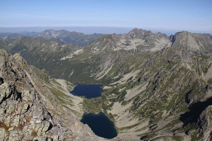 View from Kôprovský štít, Slovakia
