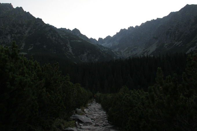Hiking in the Slovak Tatra mountains