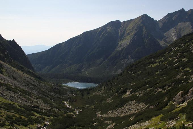 view of Popradske Pleso