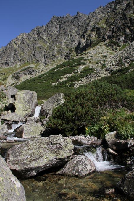 creak in mountains