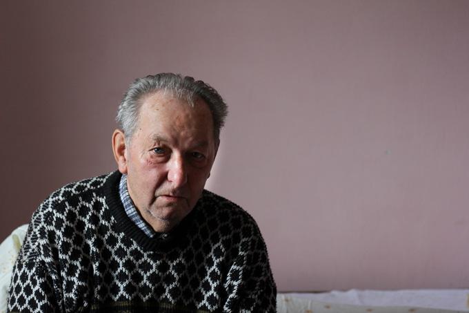 An older Slovak man