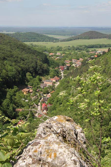 View over Plavecky Mikulas