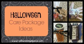Halloween Care Package Party