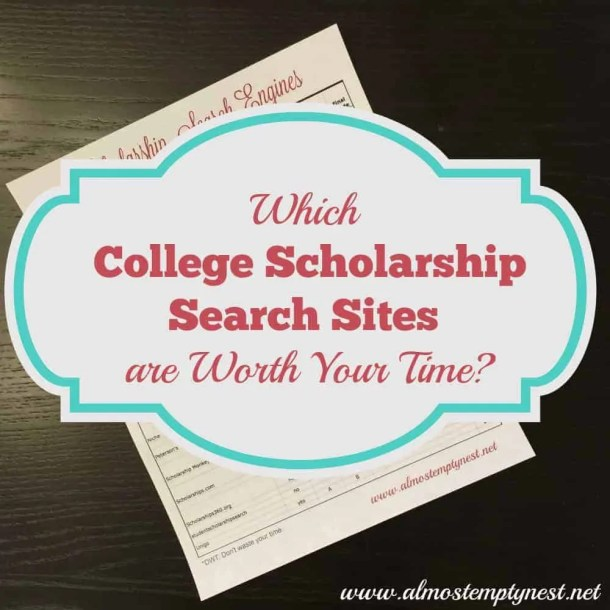 college scholarship search sites