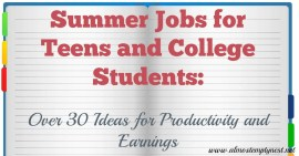 Summer Jobs for Teens and College Students: Over 30 Ideas for Productivity and Earnings