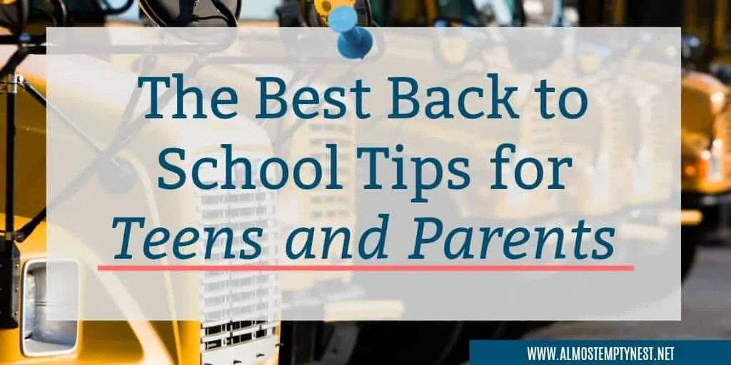 The Best Back to School Tips for Teens and Parents