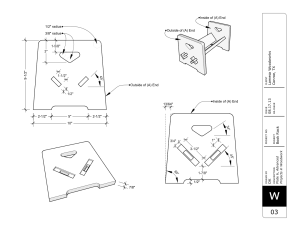 Construction Drawings Dimensional View
