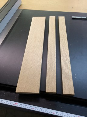 """2"""" strips are cut front the stock."""