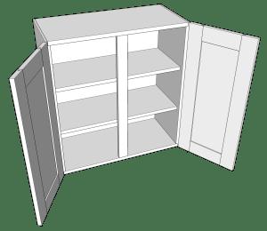 Goat Ranch 2-Door Wall Cabinet