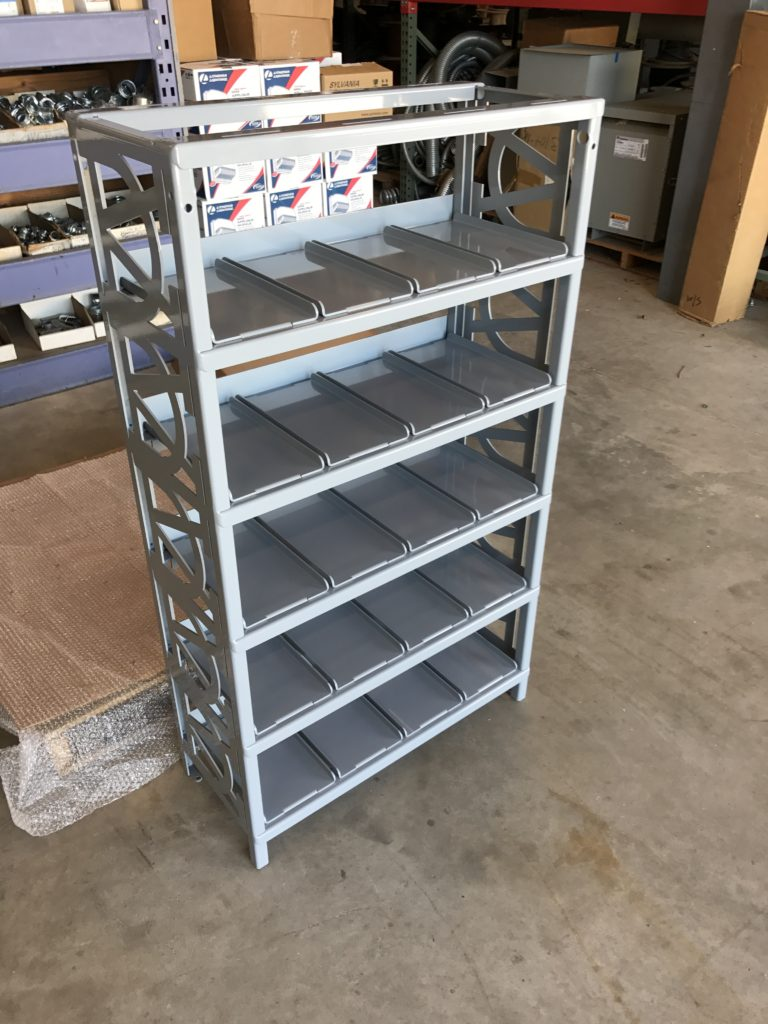 Ammo Can Storage Rack Update