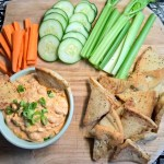 Vegetarian Buffalo Bean and Cheese Dip