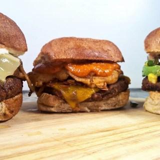 Father's Day Recipes – 3 Veggie Burger Styles and Vegan Macaroni Salad