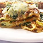 Savory Pumpkin and Kale Lasagna