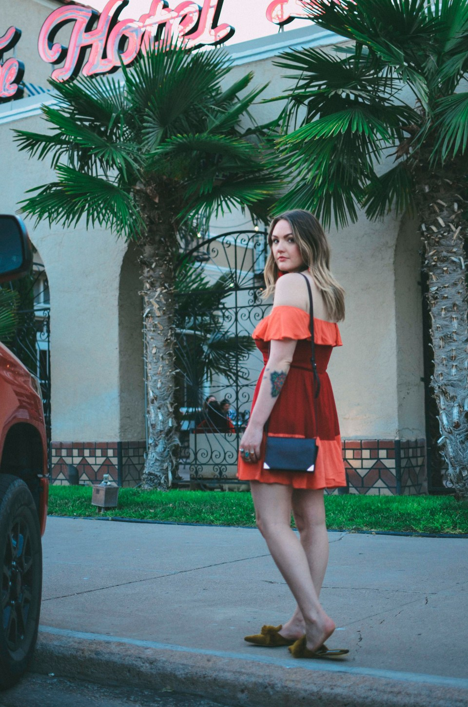 El Paisano Reformation Red Dress