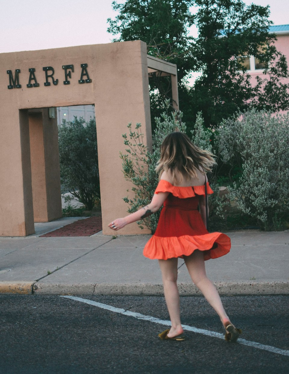 Marfa Reformation Dress