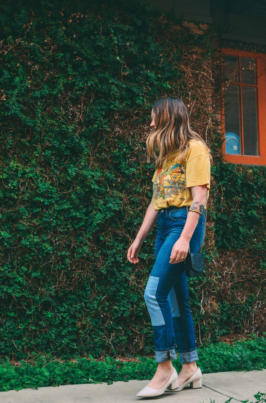 Vintage Tee and Jeans