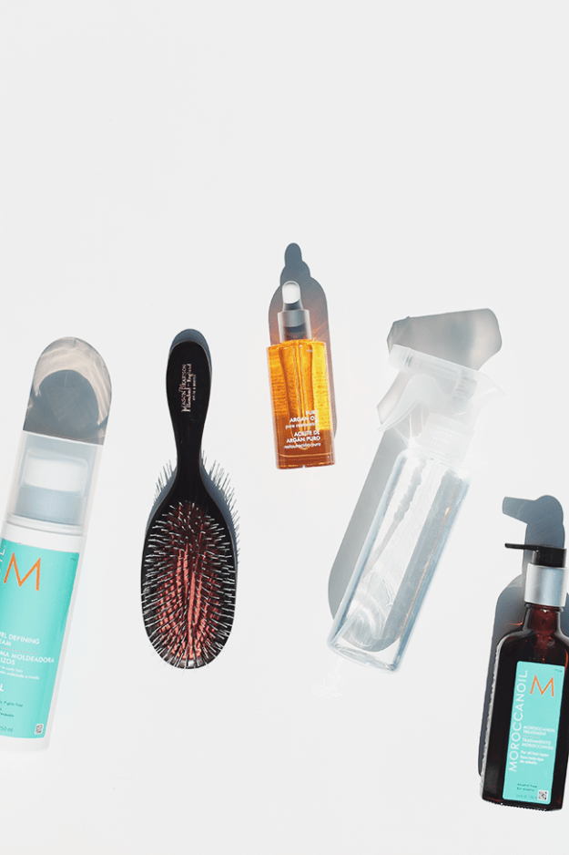 how to do your hair without doing your hair @moroccanoil | almost makes perfect