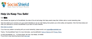 almostsavvy.com - socialshield email to child