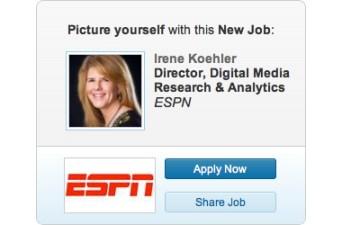 LinkedIn Ad Irene Koehler