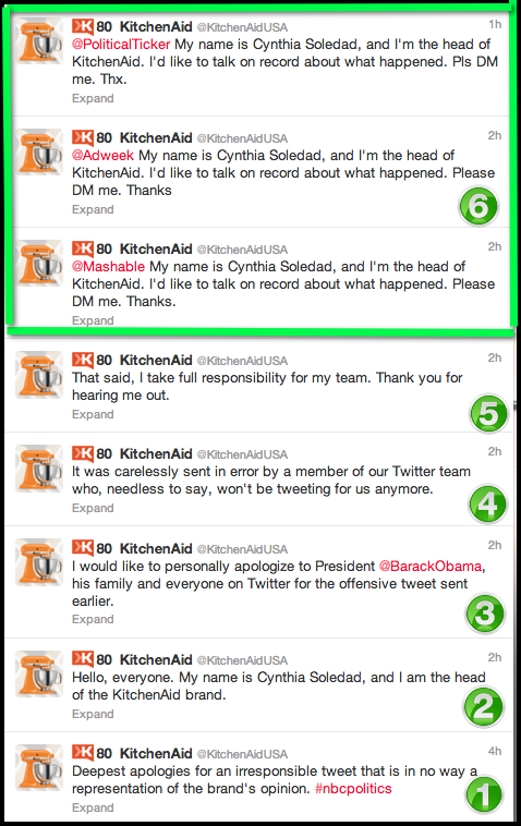 kitchenaidusa tweet obama almostsavvy