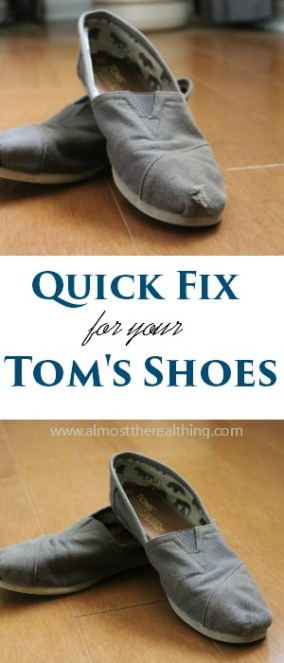 toms shoe fix cover
