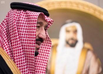 الملك يشرف مأدبة العشاء في الامارات10